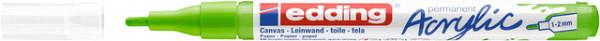 Acrylmarker edding e-5300 fijn geelgroen