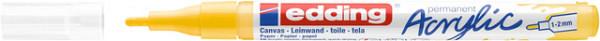 Acrylmarker edding e-5300 fijn verkeersgeel