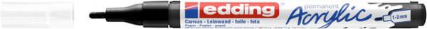 Acrylmarker edding e-5300 fijn zwart