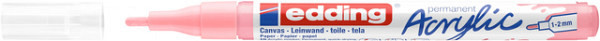 Acrylmarker edding e-5300 fijn stijlvol mauve