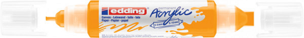 Acrylmarker edding e-5400 3D double liner zonnegeel