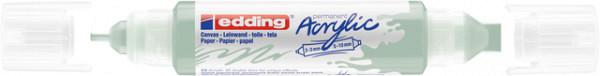 Acrylmarker edding e-5400 3D double liner zacht mint