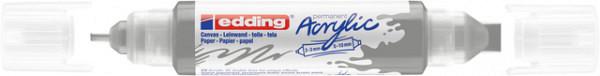 Acrylmarker edding e-5400 3D double liner zilver
