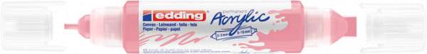 Acrylmarker edding e-5400 3D double liner stijlvol mauve