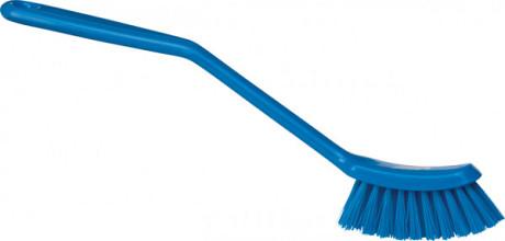 Afwasborstel Vikan smal 290mm blauw