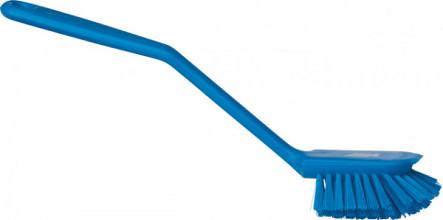 Afwasborstel Vikan klein 280mm blauw