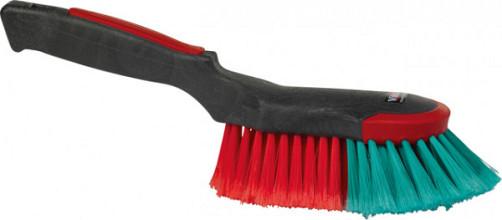 Handborstel Vikan ergo met rubber stootrand 32cm