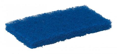 Schuurspons Vikan zacht 125x245x23mm blauw nylon