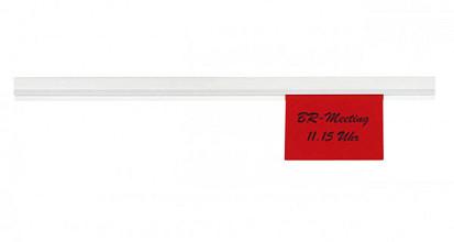 Wandlijst MAUL Express papierrail 50cm zelfklevend wit