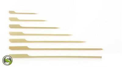 Bamboe prikker / bbq pen 12cm + oor 250 stuks