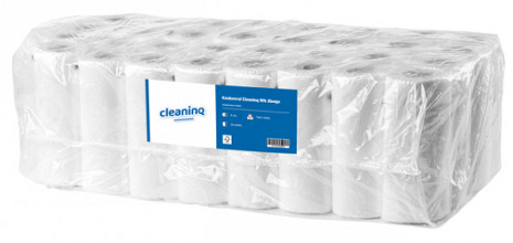 Keukenrol Cleaninq Wit 2-laags 32 rol