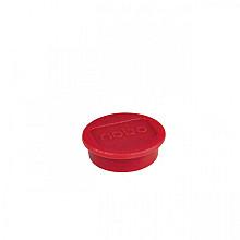 Magneet Nobo 13mm 100gr rood 10stuks
