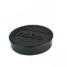 Magneet Nobo 38mm 2500gr zwart 10stuks