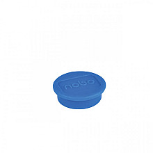 Magneet Nobo 24mm 600gr blauw 10stuks