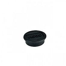 Magneet Nobo 13mm 100gr zwart 10stuks