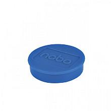Magneet Nobo 32mm 800gr blauw 10stuks