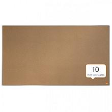 Prikbord Nobo Impression Pro Widescreen 50x89cm kurk