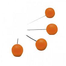 Prikbordspeld Nobo oranje 100 stuks