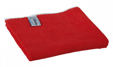 Microvezeldoek Vikan Basic 32x32cm rood