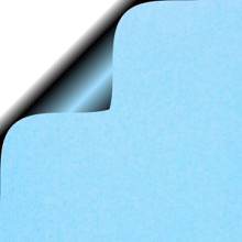 Cadeauzakjes 17x25cm 250 stuks kraft lichtblauw