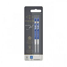 Gelpenvulling Parker blauw 0.7mm blister à 2 stuks
