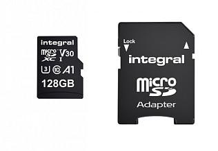 Geheugenkaart Integral microSDXC 128GB