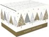 PAK Kerstpakketdoos (D) 450x350x230mm dessin Dennenboom 2021 10 STUKS