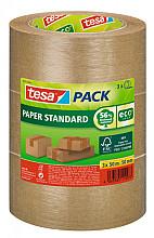 Verpakkingstape Tesa 58292 eco papier FSC 50mmx50m bundel bruin
