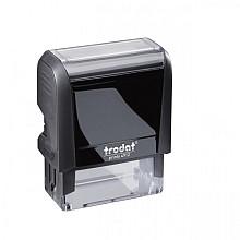 Tekststempel Trodat Printy 4912 +bon zwart