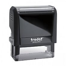 Tekststempel Trodat Printy 4913 +bon zwart