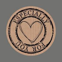 Etiket / Sticker  kraft Especially for you 500 stuks
