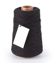 Cotton Cord/ Katoen touw 500 meter zwart
