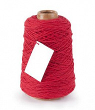 Cotton Cord/ Katoen touw 500 meter rood