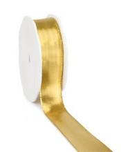 Lint Lahnband 10mm x 25 meter goud