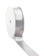 Lint Lahnband 40mm x 25 meter zilver