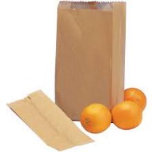 Fruitzakken 40 grams bruin 0.5 pond 2500 stuks
