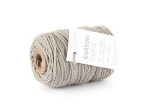 Cotton Cord / Katoen touw 50 meter grijs ø2mm