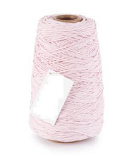 Cotton Cord/ Katoen touw 500 meter licht roze