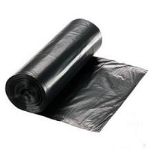 Vuilniszak hdpe 60x80cm zwart 25mu - set 20st