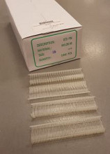 Nylon textielpins 15mm standaard 5000st