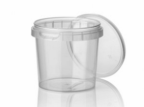 PP cups met sluitzegel deksel 770ml transparant 240 stuks
