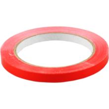 Tape 9mmx66mtr PVC 16 rollen rood