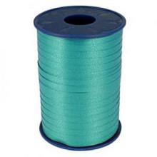 Krullint 10mm x 250 meter kleur blauw/groen aquablauw 703