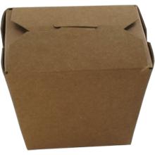 Noodle bak bruin karton 460ml 76x57x83mm 50 stuks