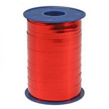 Metallic krullint rood 10mm x 250 meter