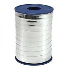 Metallic krullint zilver 10mm x 250 meter