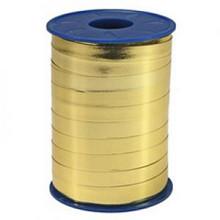 Metallic krullint goud 10mm x 250 meter