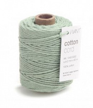 Cotton Cord / Katoen touw 50 meter early dew ø2mm