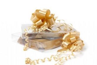 Trekstrikken 50mm 20 stuks goud geel