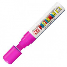 Krijtstift posterman PMA-120 fluor roze dik 7 - 15mm